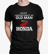 Mens Funny Honda T-shirt Motorcycle Biker Dad Gift Top Fathers Car Tee S - 4XL