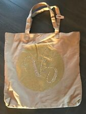 Victoria's Secret Beige Canvas Tote Bag *NEW*