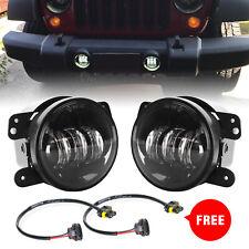 4 Inch Cree Led Fog Lights Driving Lamp For Jeep Wrangler Jk Tj Chrysler Dodge