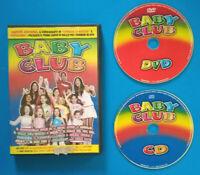 CD + DVD Film Ita Musicale BABY CLUB Corso Di Ballo Per Bambini no vhs lp mc(H1)