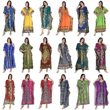 Wholesale Lot 50 Assorted Pcs Long Beach Maxi Kaftan Dress One Size Plus Caftan