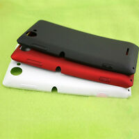 For Sony Xperia Series Rear Battery Back Housing Glass Cover Black + Adhesive