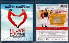 Blu-ray Jim Carrey I LOVE YOU PHILLIP MORRIS Ewan McGregor Cdn Region A OOP NEW