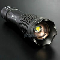 UltraFire 10000LM CREE XML T6 LED Zoomable 18650/AAA Flashlight Torch light Lamp