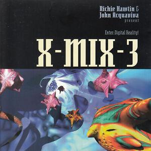 Richie Hawtin & John Acquaviva - X-Mix-3 CD 1994 Electronic Acid House