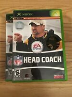 EA SPORTS NFL HEAD COACH - XBOX - COMPLETE WITH MANUAL - FREE S/H - (Y)