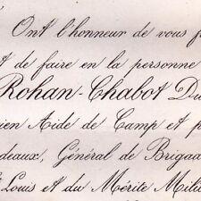 Anne Louis Fernand De Rohan-Chabot Reuil 1869