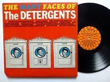the DETERGENTS Many Faces of LP teen pop novelty VG++ vinyl   Lc178