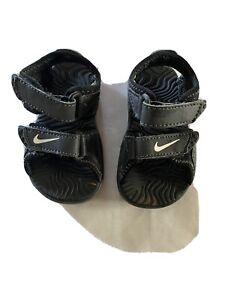Nike Adjustable Hiking Sport Sandal Shoes Black