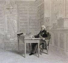 Le Roi Louis XVIII aux Tuileries 1814 Restauration Royaliste