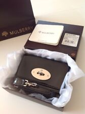 Mulberry Bayswater Mini Messenger For iPhone 4 Black Patent Excellent Condition