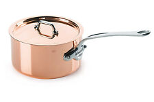 MAUVIEL M'Heritage M' 150s COPPER and Stainless Steel 1.9 qt SAUCEPAN & LID 6.3""