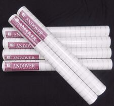 Gold Stripe Wallpaper White Background #35880 (Lot of 6 Double Rolls)