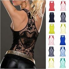 Women's Stretch Viscose Vest Top, Strappy, Cami Tops & Shirts