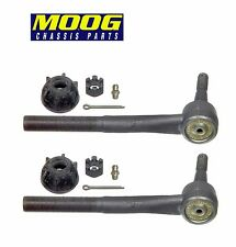For Chevy Astro GMC Safari AWD Set of 2 Front Outer Tie Rod Ends Moog ES3254RL