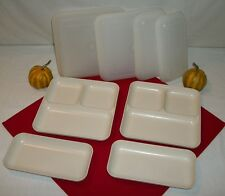 Tupperware 8pc Ultra 21 Individual Serving Dish ~Divided Plate Trays ~Oven ~Micr