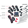 Audiovox PSB111 Parking Assist System with (4) Sensors and Buzzer.Ships From USA