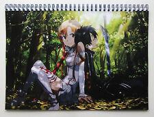 Wall Calendar 2018 (12 pages A4) SWORD ART ONLINE Anime Manga Japan Girl A-718