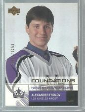 2002-03 Upper Deck Foundations #155 Alexander Frolov NF RC 0425/1250 (ref37045)