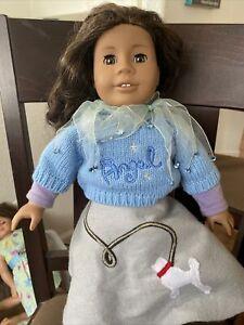 american girl doll 2008 Medium Tone Skin Brown Hair Brown Hair Brown Eyes