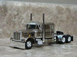 DCP 1/64 Tan Brown 359 Peterbilt Semi Truck Farm Toy