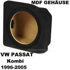 VW Passat Kombi 1996-2005 linker Radkasten  MDF Leergehäuse für 25cm Bass
