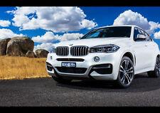 BMW X6 M50D NEW A4 POSTER GLOSS PRINT LAMINATED