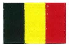 Patch badge patche écusson Belgique Belgium 85 x 55 mm brodé thermocollant