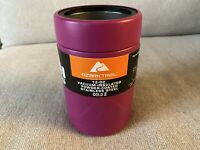 Ozark Trail 12oz Vacuum Insulated Powder Coated Stainless Steel Magenta Koozie D