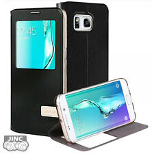 S-view Book Case Bookcase Cover Pouch for Samsung Sm-g928 Galaxy S6 Edge Plus