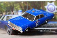 1:43 Ford Galaxie 500 Westwood Massachus Police cars + Magazine #46