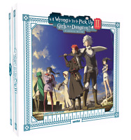Is It Wrong to Try to Pick Up Girls in a Dungeon?! Season 2 Premium Box Set