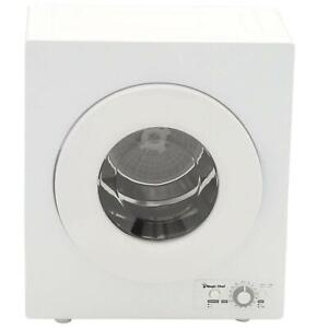 Magic Chef 2.6 cu. ft. Compact Electric Dryer White Apartment Clothes Drying New