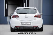 Rieger Heckeinsatz für Opel Astra J / NEU / RIEGER-Tuning