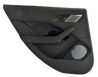 Jaguar i Pace X590 LHD Rear Left Side Interior Door Card Moulding Trim - Ebony