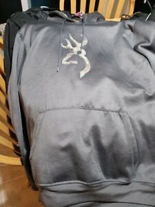 Browning hood&emblem Camouflage Hoodie brown new with tags size XL athletic fit