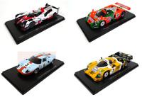 Set of 4 Model Cars 24h Le Mans - 1:43 Spark Diecast Racing Car LM31