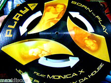 "12"" - Monica X vs. Jesus Play & Willy Da House ‎– Play 1.0 (Picture Disc) MINT"