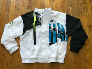 Nike Challenge Court Agassi Jacket 2020 NWT CQ9184-101 Black/Teal Sz M,L