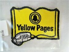 Vintage Yellow Pages Embroidered Patch