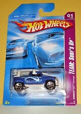 2008 Hot Wheels Team:Surf's Up #117 HUMMER H3T Concept - Dark Blue