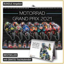 BUNDLE MotoGP Kalender 2021 DINA3 + GRATIS Tischkalender   MotoGP
