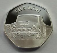 THE MINI MOTORCAR Silver Commemorative GREAT BRITISH DESIGN ICONS Car/Cooper