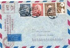 Echte Echtheitsgarantie Briefmarken aus der BRD (1948-1954) mit Mischfrankatur