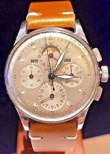 1943-1945 Universal Geneve Tri-Compax, Moonphase/ Day Date