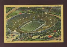 USA FOOTBALL Rose Bowl Pasadena California  Aerial view 1951 PPC
