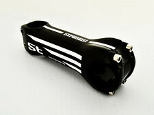 STRADALLI CYCLING FULL CARBON FIBER ROAD BICYCLE HANDLEBAR STEM WHITE 130MM