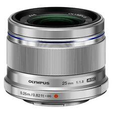 Olympus 25mm 1 1.8 M.zuiko Digital Lens - Silver