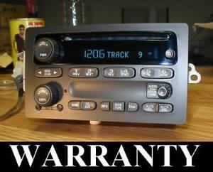 UNLOCKED 2003-07 GM CHEVY TAHOE SILVERADO CLASSIC CD PLAYER RADIO SSR