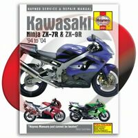 1996-2003 Kawasaki ZX-7R Haynes Repair Manual 3721 Shop Service Garage